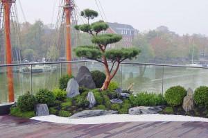 Dachgarten in Leer 2010 | kokeniwa japanische Gartengestaltung | Heiko Voß