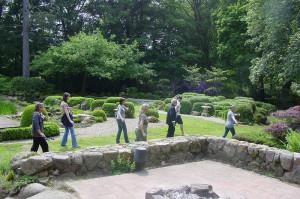 Zen-Kloster Liebenau-Tai-Chi im Park | kokeniwa japanische Gartengestaltung | Heiko Voß