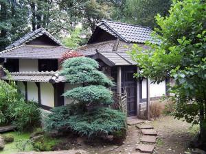 Zen-Kloster-Liebenau-Teehaus | kokeniwa japanische Gartengestaltung | Heiko Voß